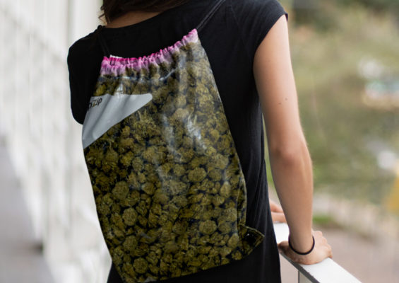 STASH DRAWSTRING BAG