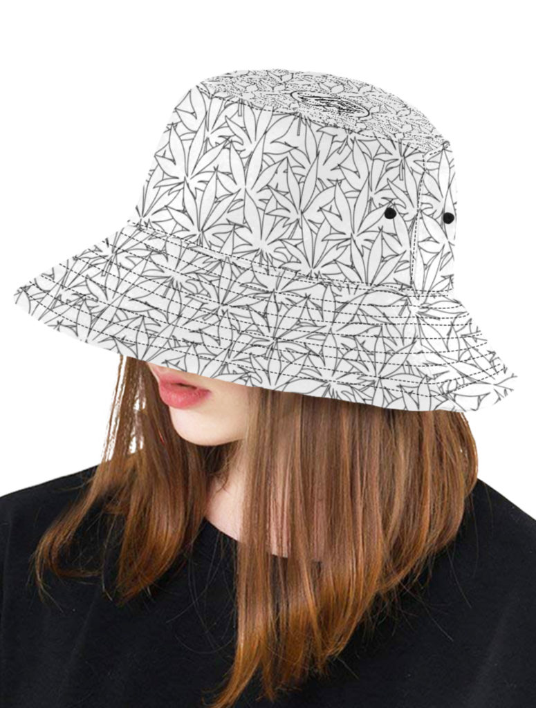 just get high_bucket hat_dope doodle_web