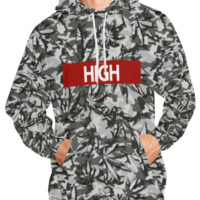 HOODIE: JUST GET HIGH™ • CANNA-CAMO