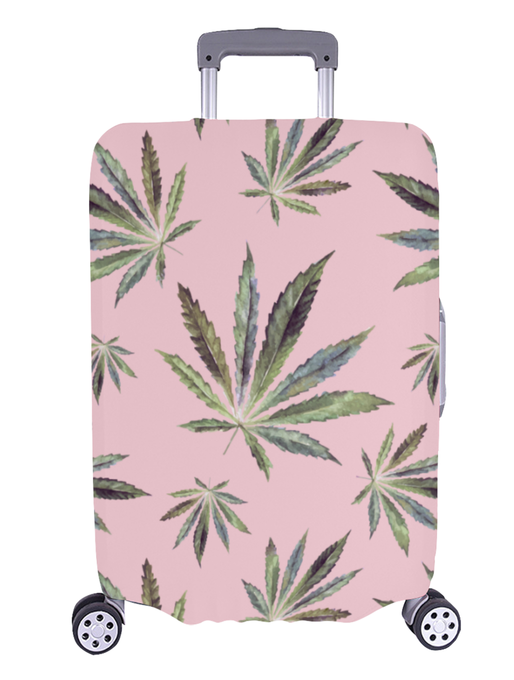 just get high_luggage cover_large_antique leaves_web
