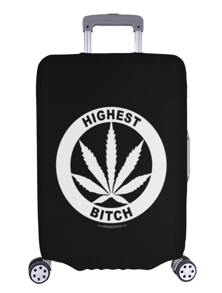 just get high_luggage cover_large_highest bitch logo_web
