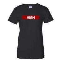 BOYFRIEND SHIRT: JUST GET HIGH™ • RED LABEL