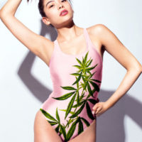 RACERBACK SWIMSUIT: GROW TOGETHER