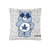 XL THROW PILLOW: RACOON CANNABEAR