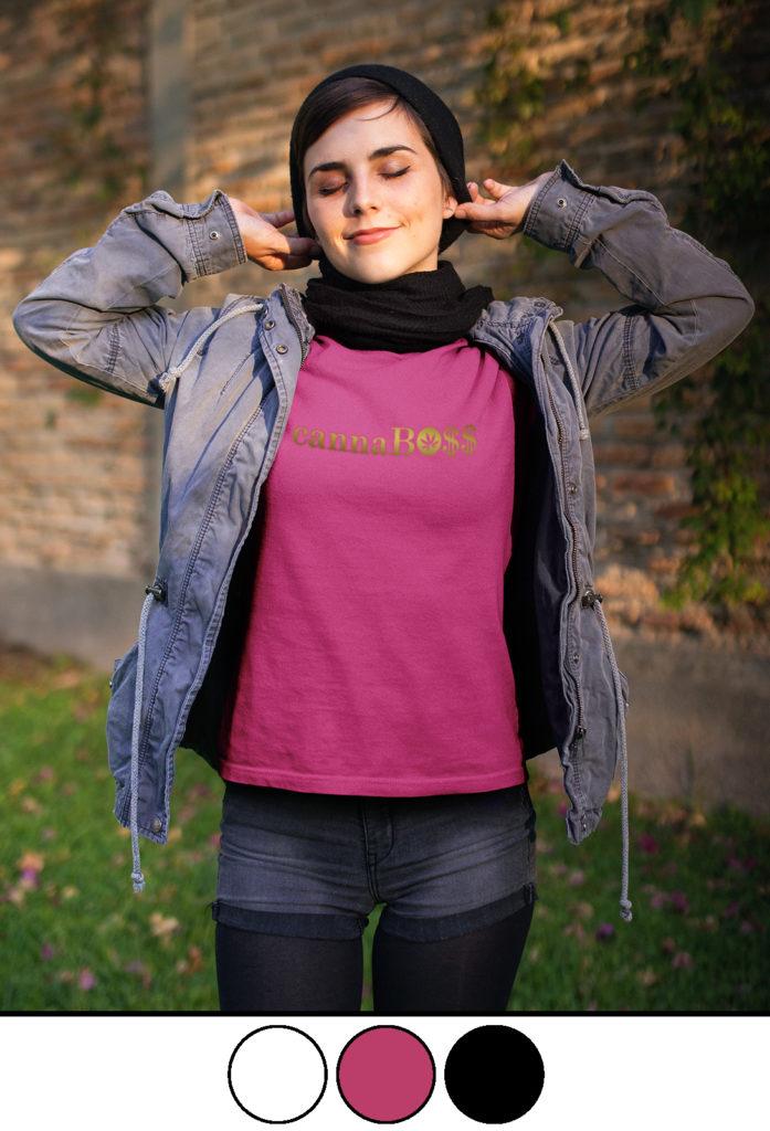 just get high_cannaboss og_boyfriend shirt_gold foil_pink