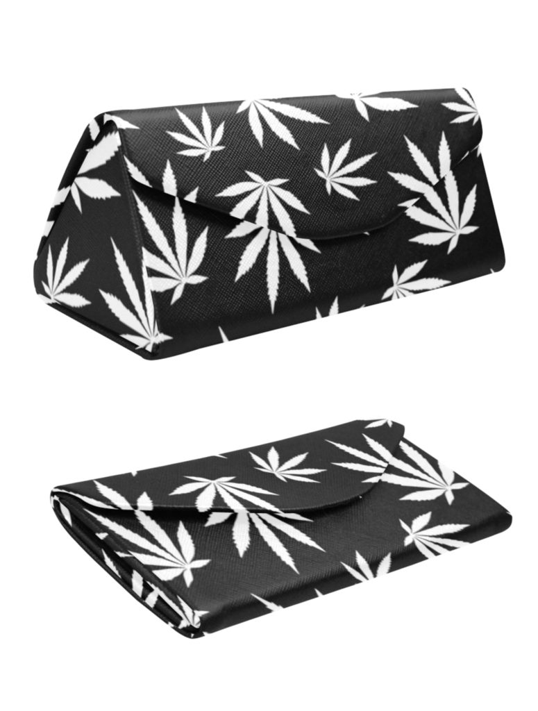 just get high_folding case_highest bitch_black leaf