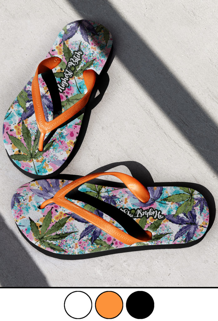 just get high_highest bitch_flip flops_colors