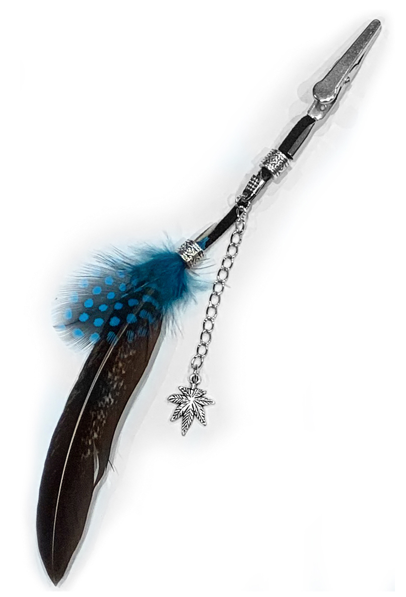 just get high_roach clip_2 color with chained charm_1