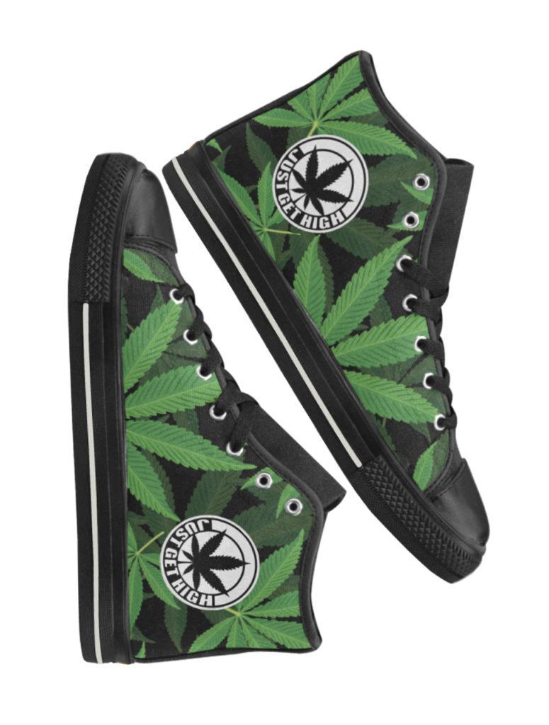 just get high_hightops_stylized leaf_web