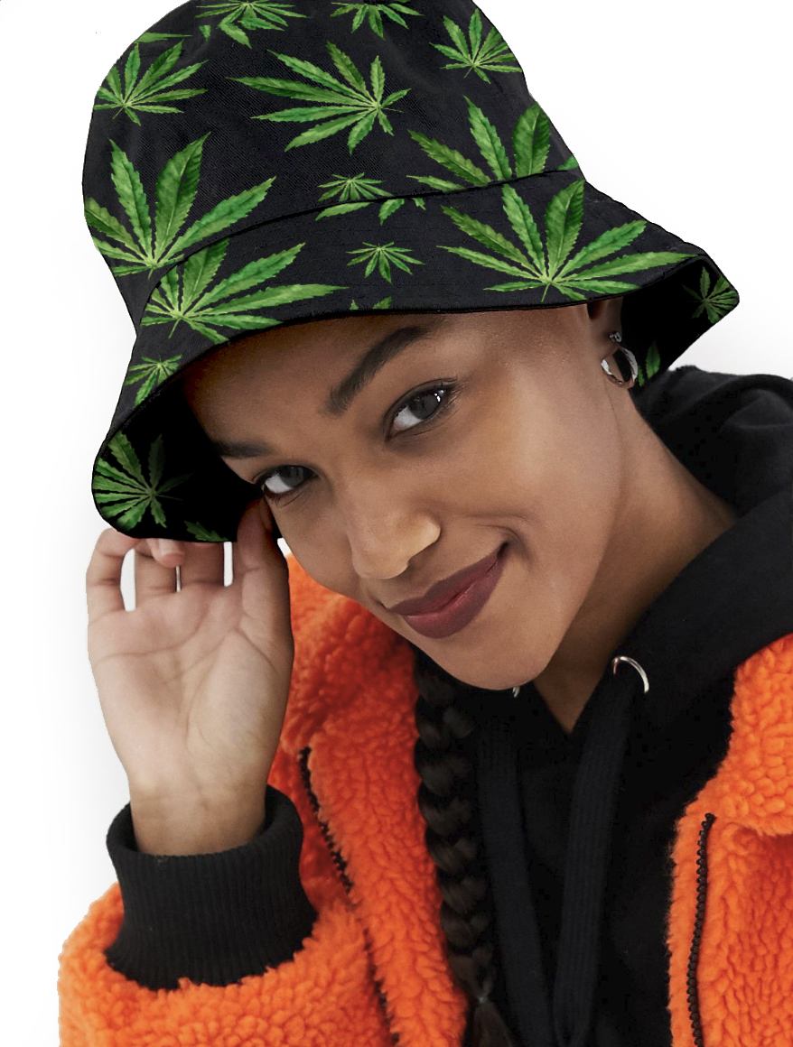 just get high_bucket hat_highest bitch_PAINTED LADIES_web