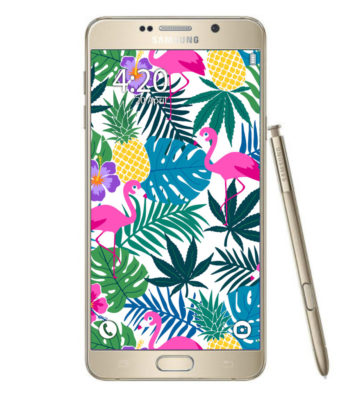samsung_phone_pineapple express print_phone