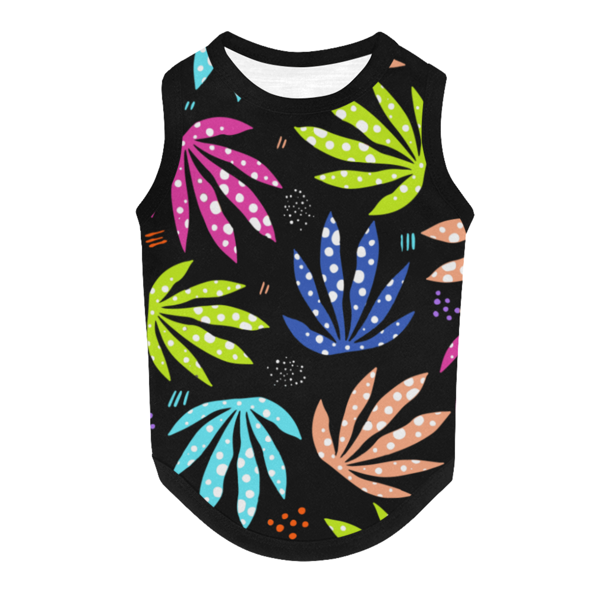 just get high_pet tank_back_smelling colors