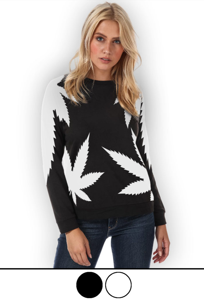 highest bitch_just get high_sweatshirt_oversizzed leaf_web