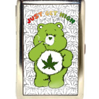 SMOKING CASE: JUST GET HIGH™ • CANNABEAR