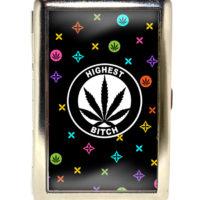 SMOKING CASE: HIGHEST BITCH • RAINBOW LOGO
