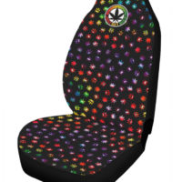 CAR SEAT COVERS: TYE DYE KAWAII