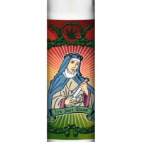 CANNARITUAL PRAYER CANDLE: IT'S JUST GLASS