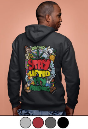 just get high_stay lifted my friends_hoodie_oversized image