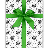 WRAPPING PAPER: HIGHEST BITCH • BLACK AND WHITE