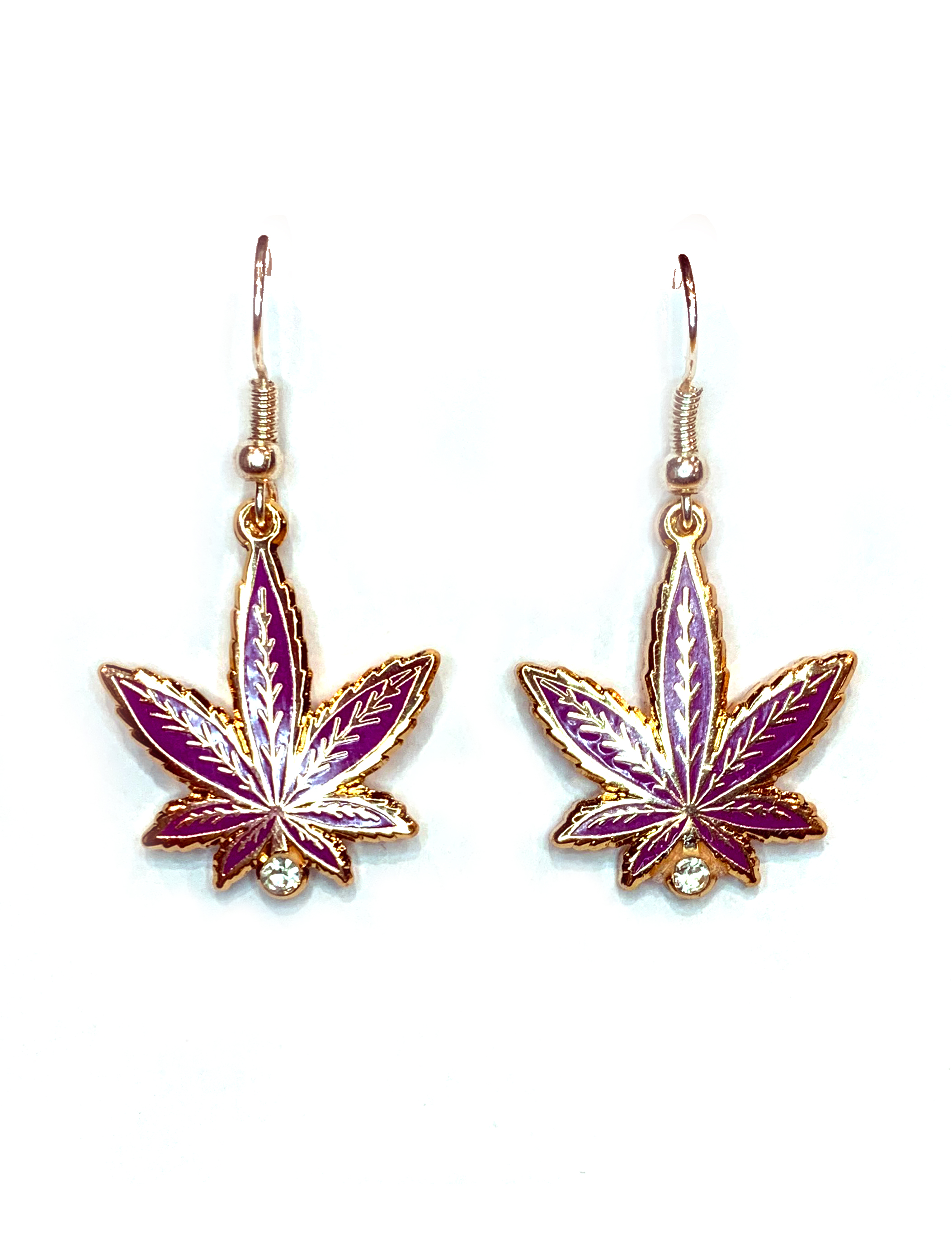 just get high_pink taco leaf earrings_web