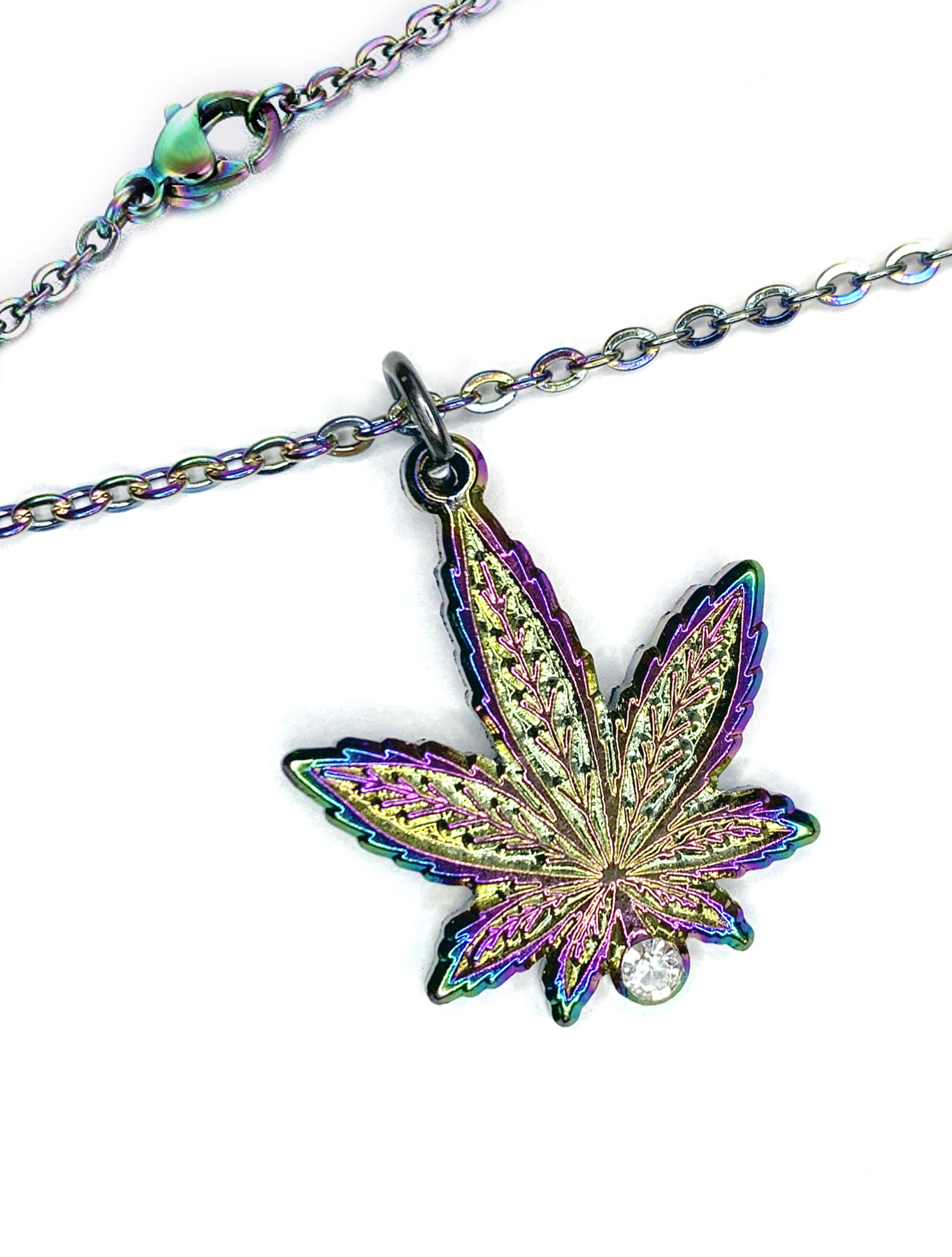 rainbow leaf necklace_textured_web 1
