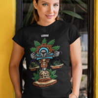 BOYFRIEND SHIRT: BLAZIN' ZODIAC • LIBRA