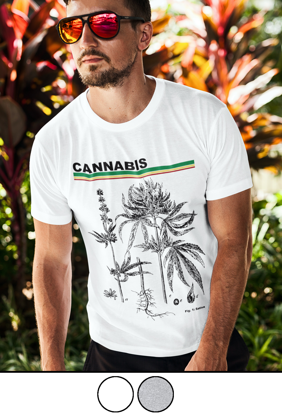 cannabis diagram_just get high_shirt_mens