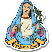 STICKER: IT'S JUST A PLANT • MARYJANE