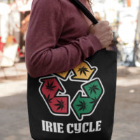 CANVAS TOTE: IRIE CYCLE