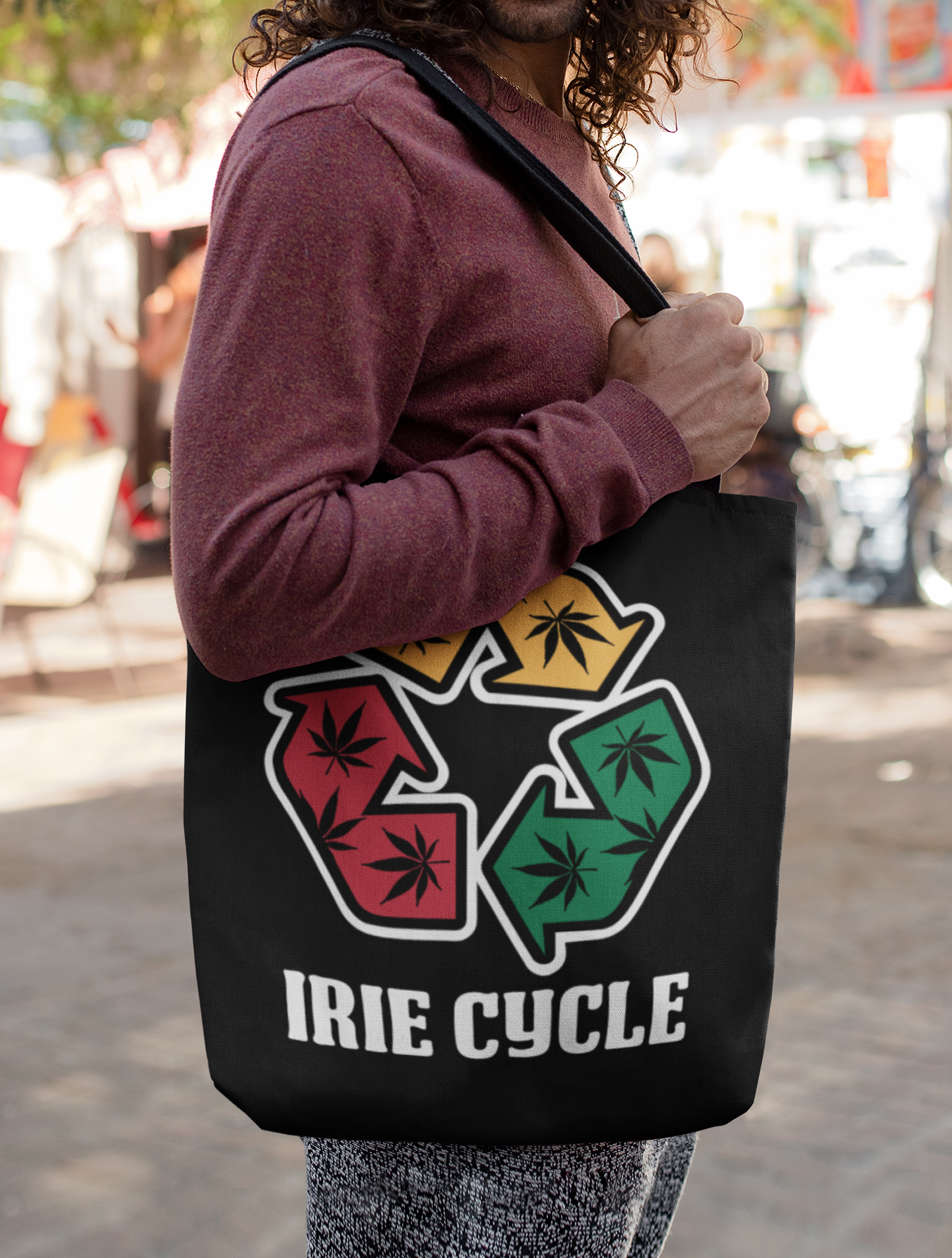just get high_canvas tote_irie cycle