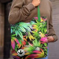 CANVAS TOTE: RAINBOW KUSH