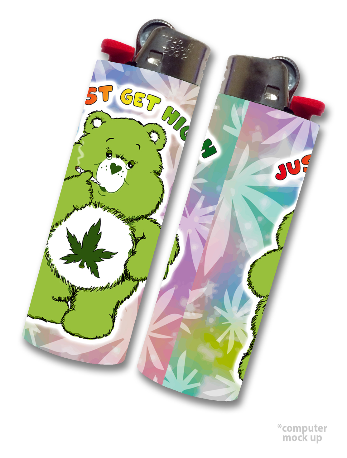 just get high_lighter wrap skin_cannabear_blazeybear