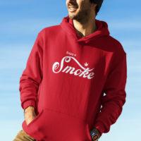 UNISEX HOODIE: ENJOY A SMOKE • SPOOF
