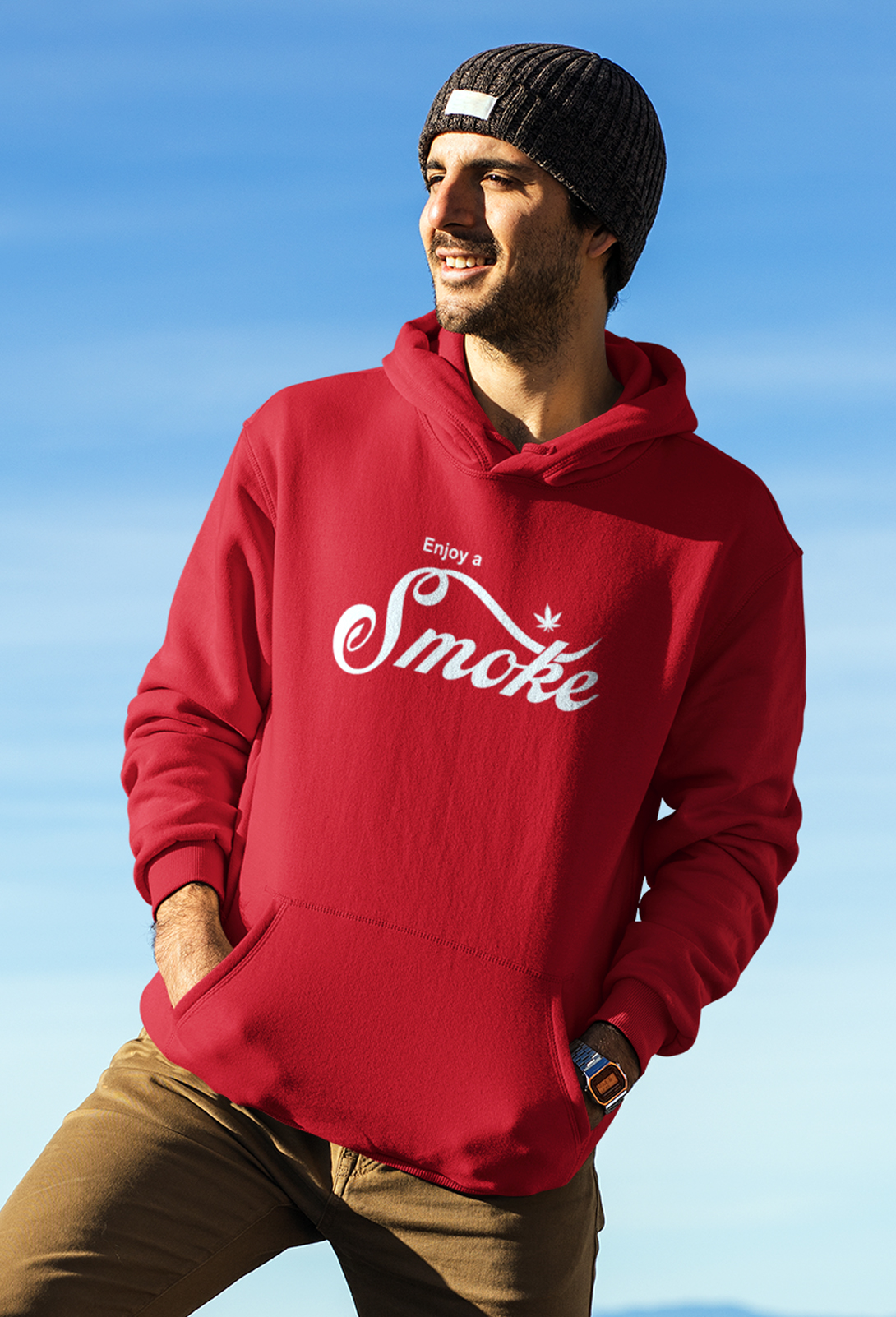 just get high_enjoy a smoke_hoodie