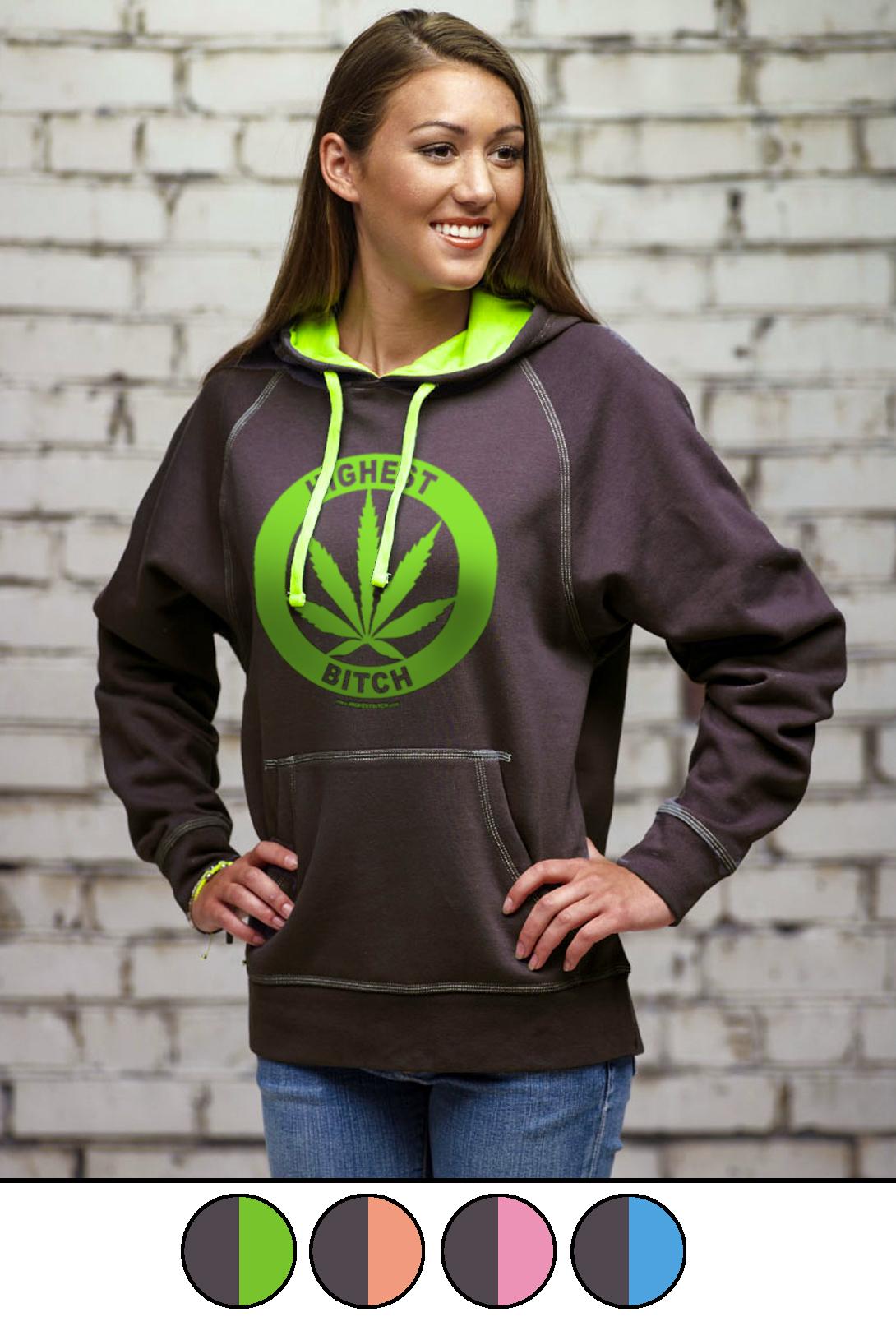 highest bitch_hoodie_neon contrast
