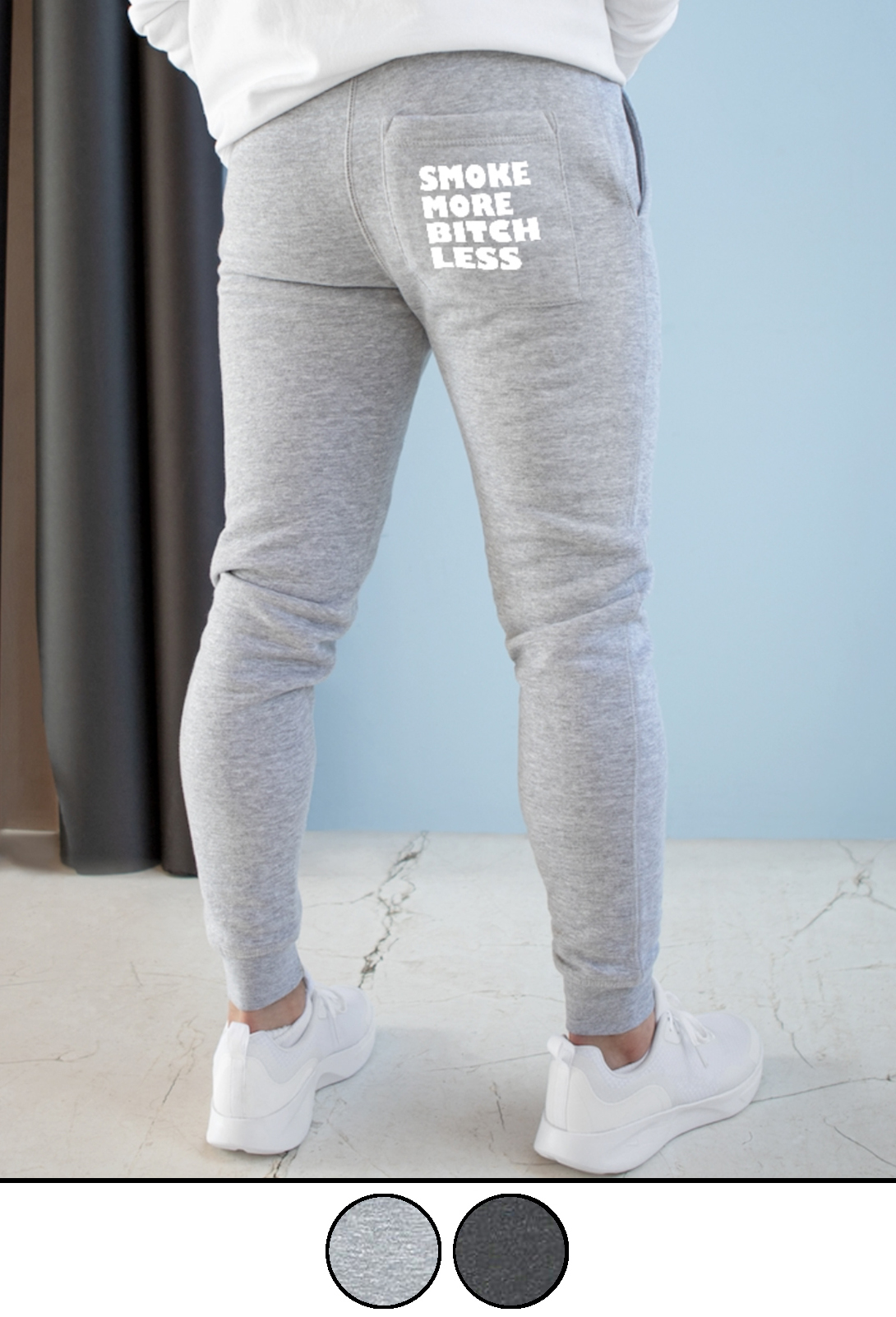 Just Get High_unisex joggers_model