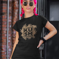 FITTED SHIRT: KUSH • BLEACHED