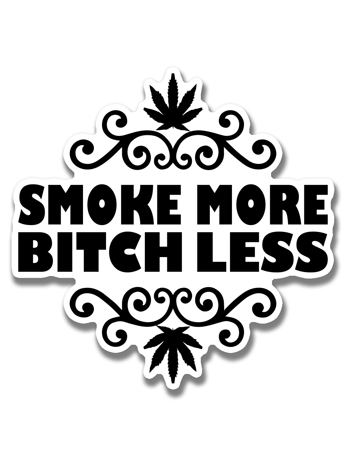 just get high_ stickers_smoke more