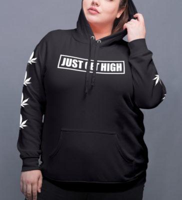 just get high_hoodie_black_stencil_model_1