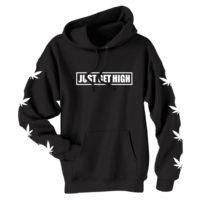 FASHION HOODIE: JUST GET HIGH™ • STENCIL