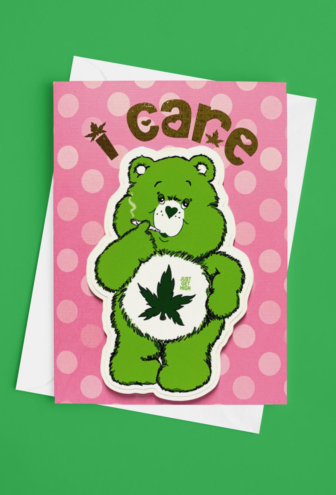 just get high_sticker card_cannabear_new