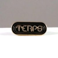 HAT PIN: TERPS • GOLD