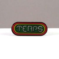 HAT PIN: TERPS • GREEN CENTER
