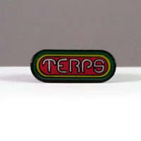 HAT PIN: TERPS • RED CENTER