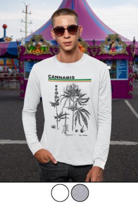 cannabis science_long sleeve shirt_model_1a